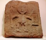 Relief of horned god