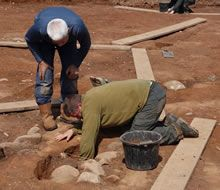 Find out about ongoing excavations